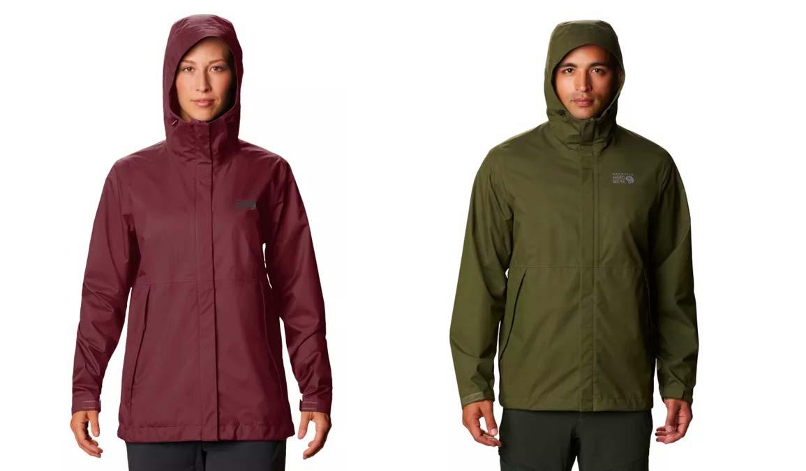 mountain hardwear granite glade rain jacket