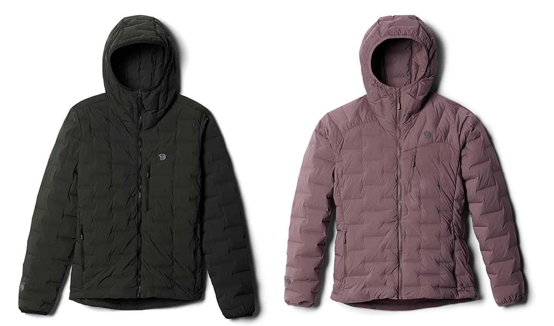 Chaqueta de plumón elastizada con capucha Mountain Hardwear Superds