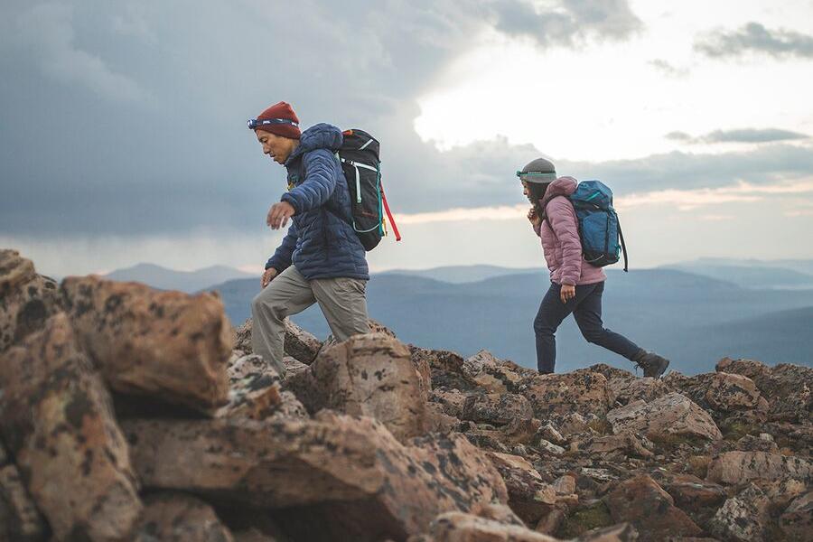 mountain hardwear superds stretchdown hooded jacket