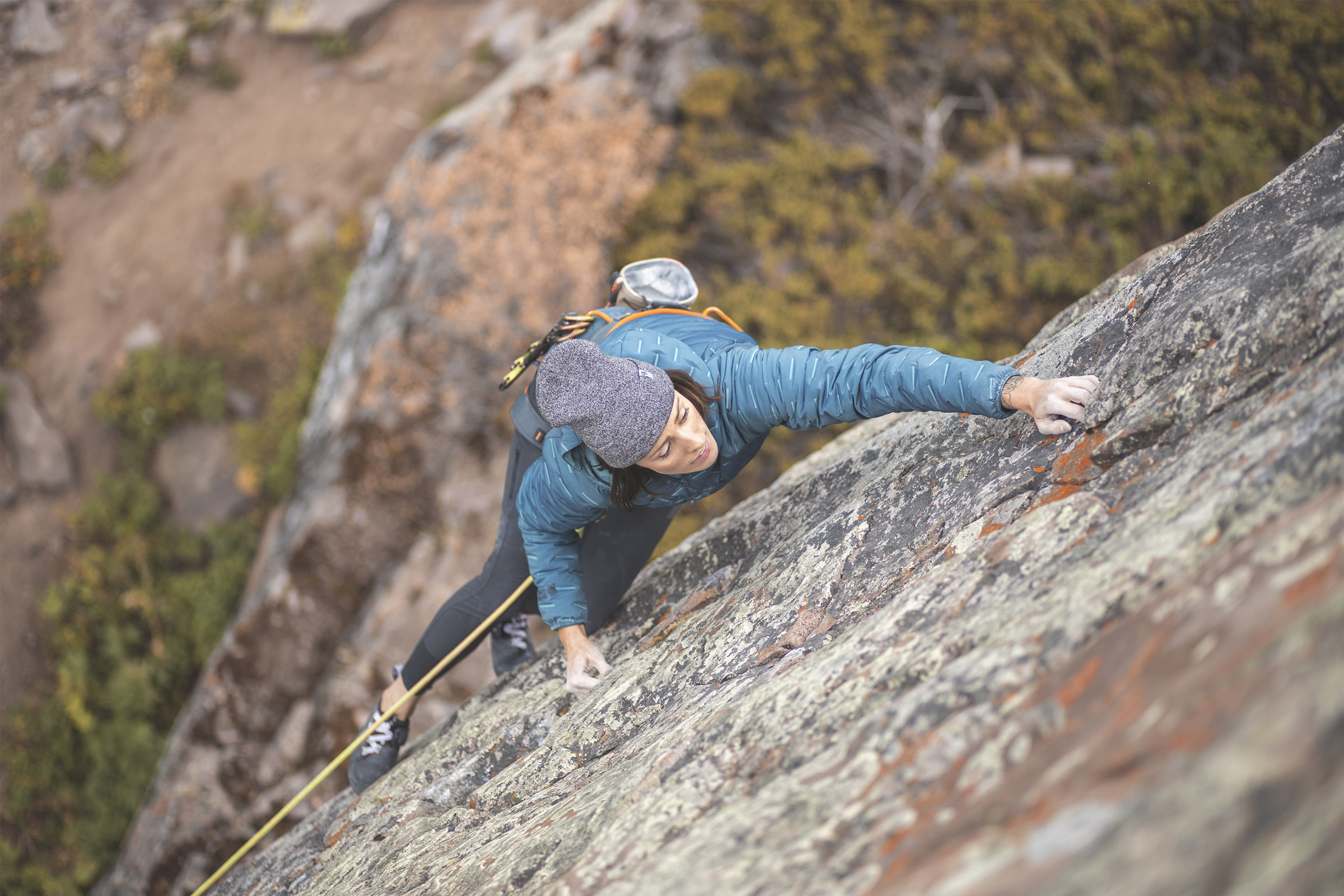 mountain hardwear's super-ds stretchdown hooded jacket