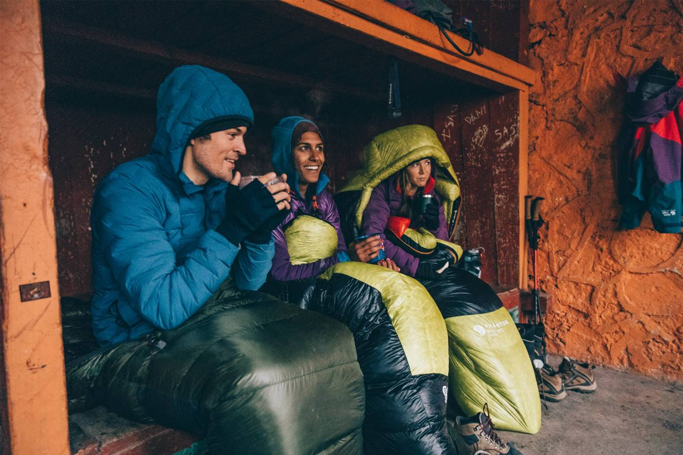 mountain hardwear's superds stretchdown hooded jacket