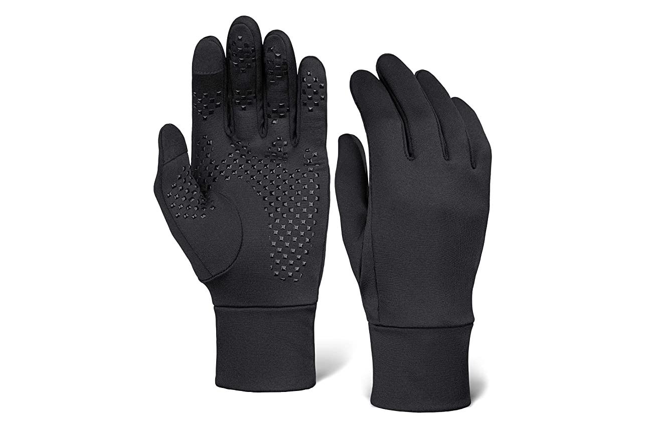 outdoor essentials touch screen running gloves