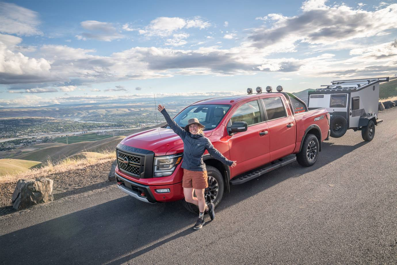 pacific northwest and rocky mountain road trip