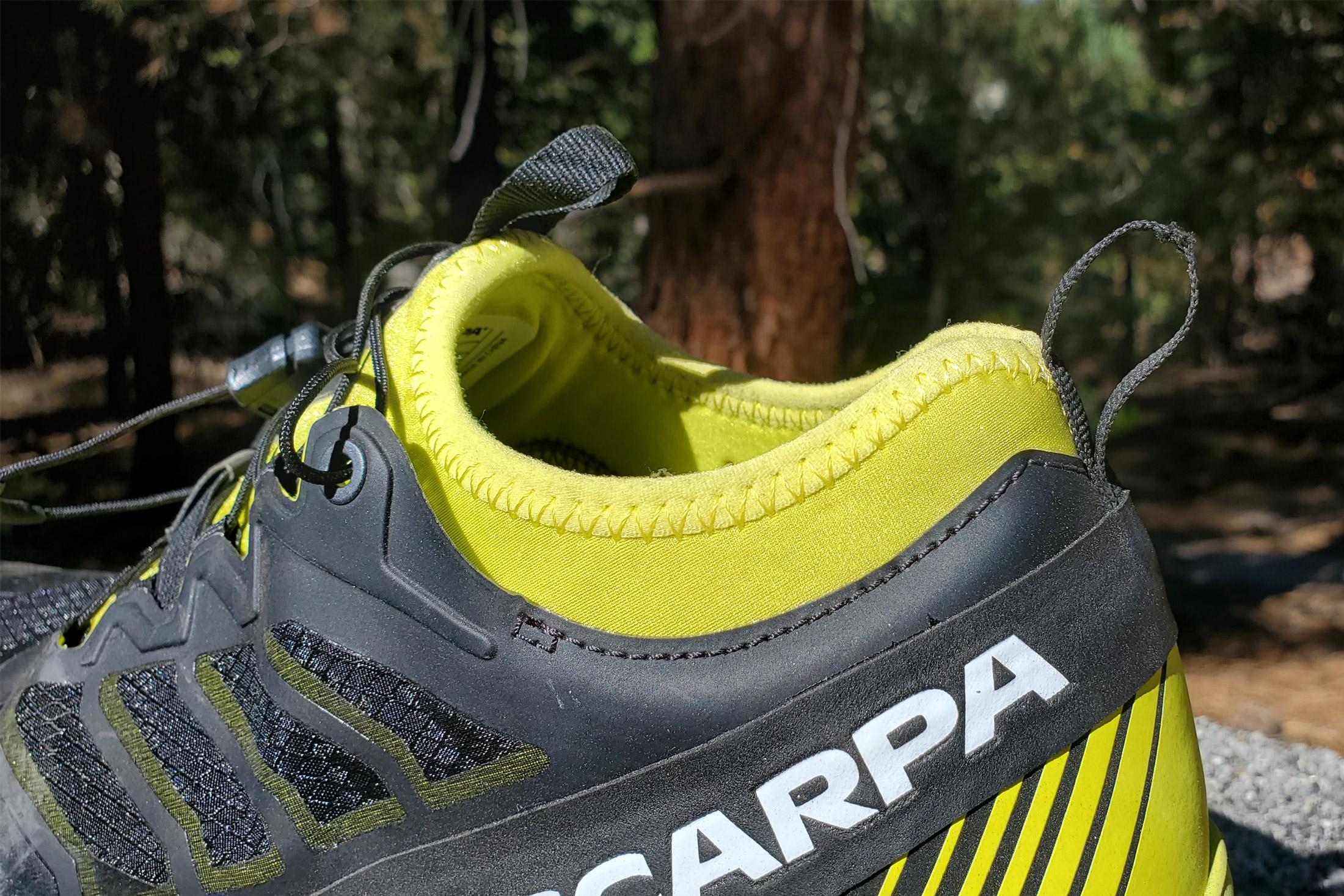 Zapatillas de running Scarpa Ribelle - cuello de tobillo con fuelle