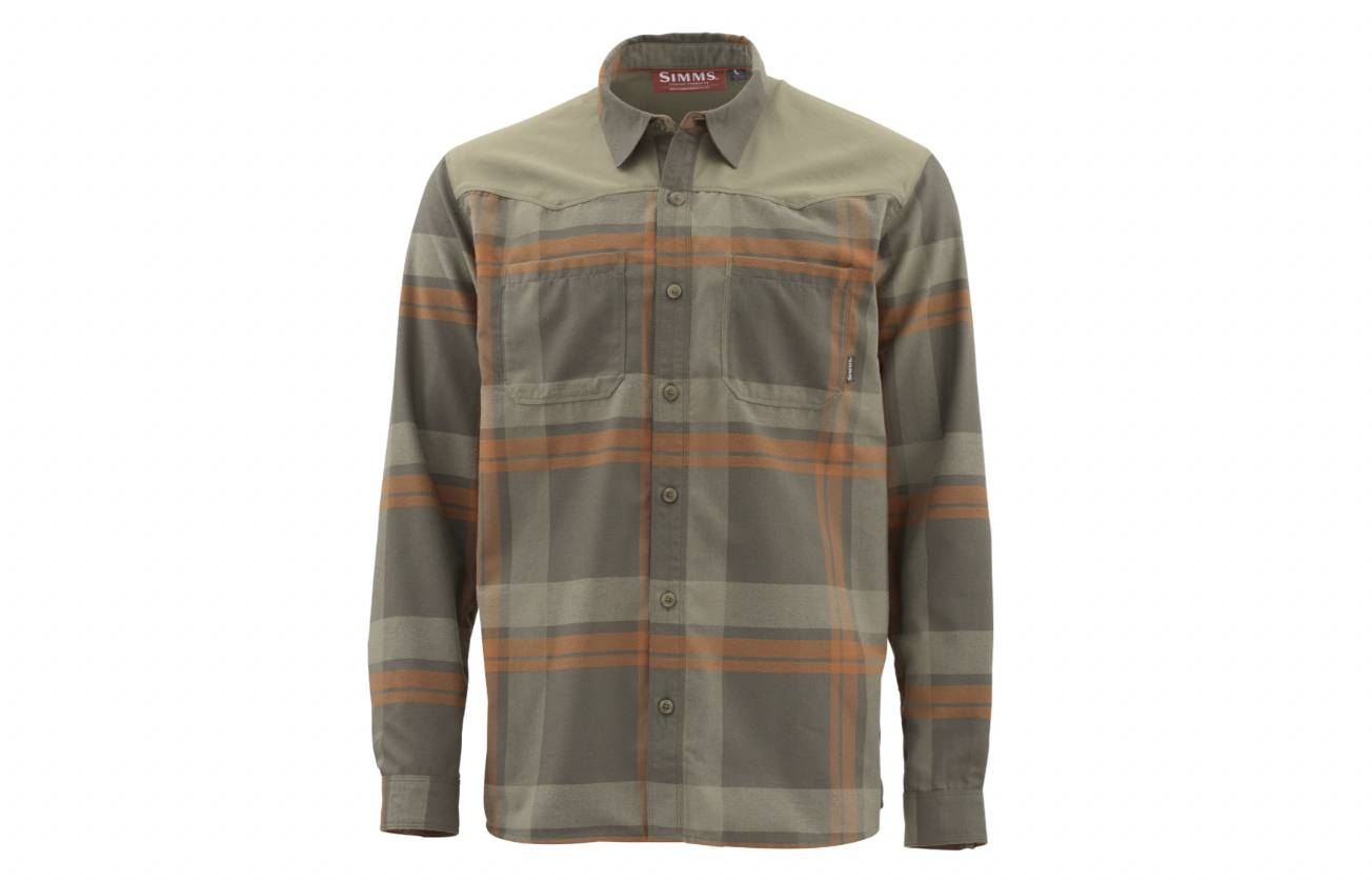 simms flannel shirt