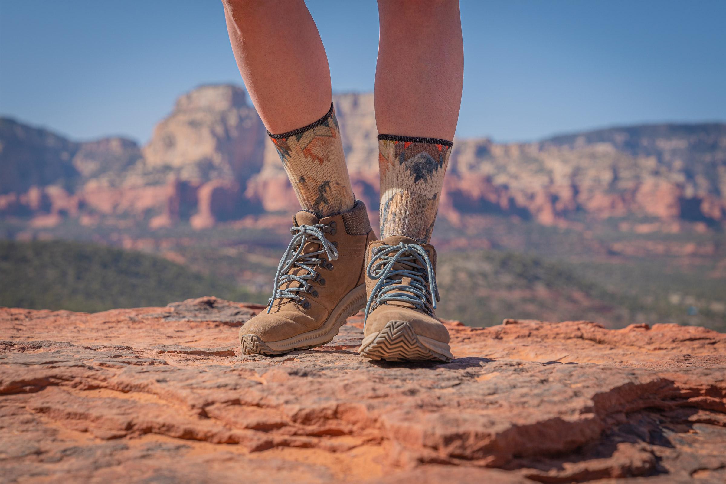 smartwool's performance hike light cushion ankle socks