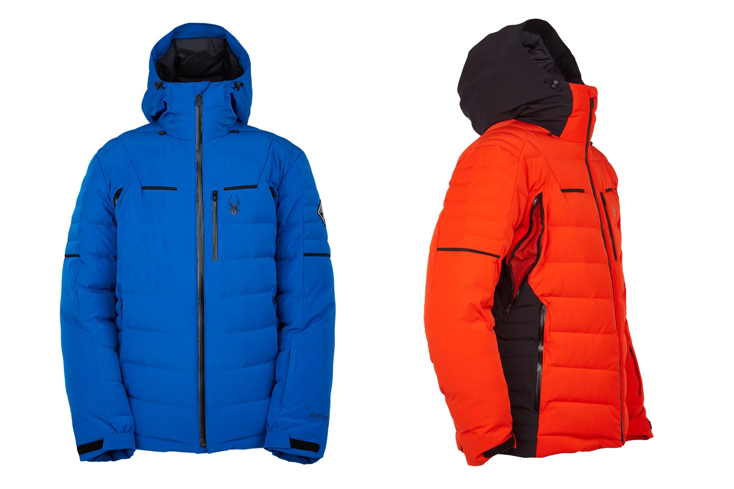 spyder impulse down jacket