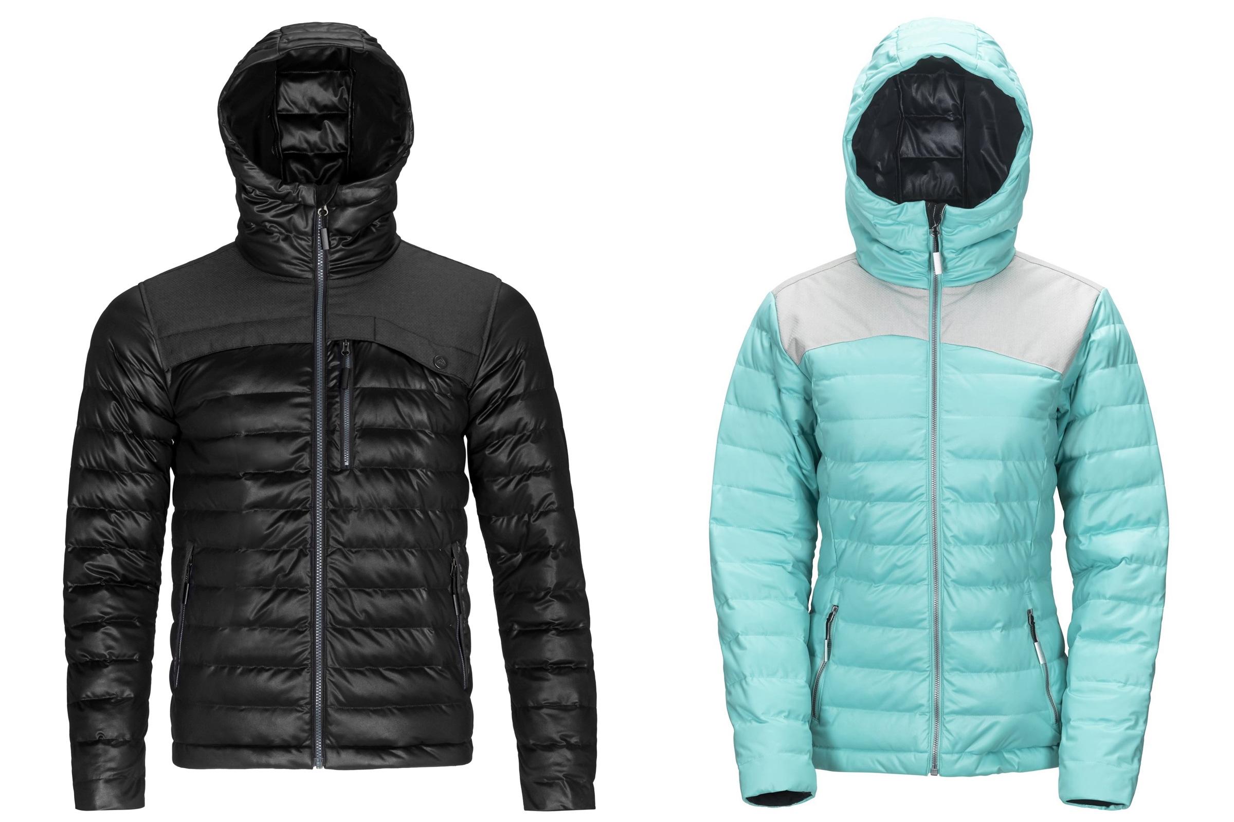 sync performance stretch puffy jacket