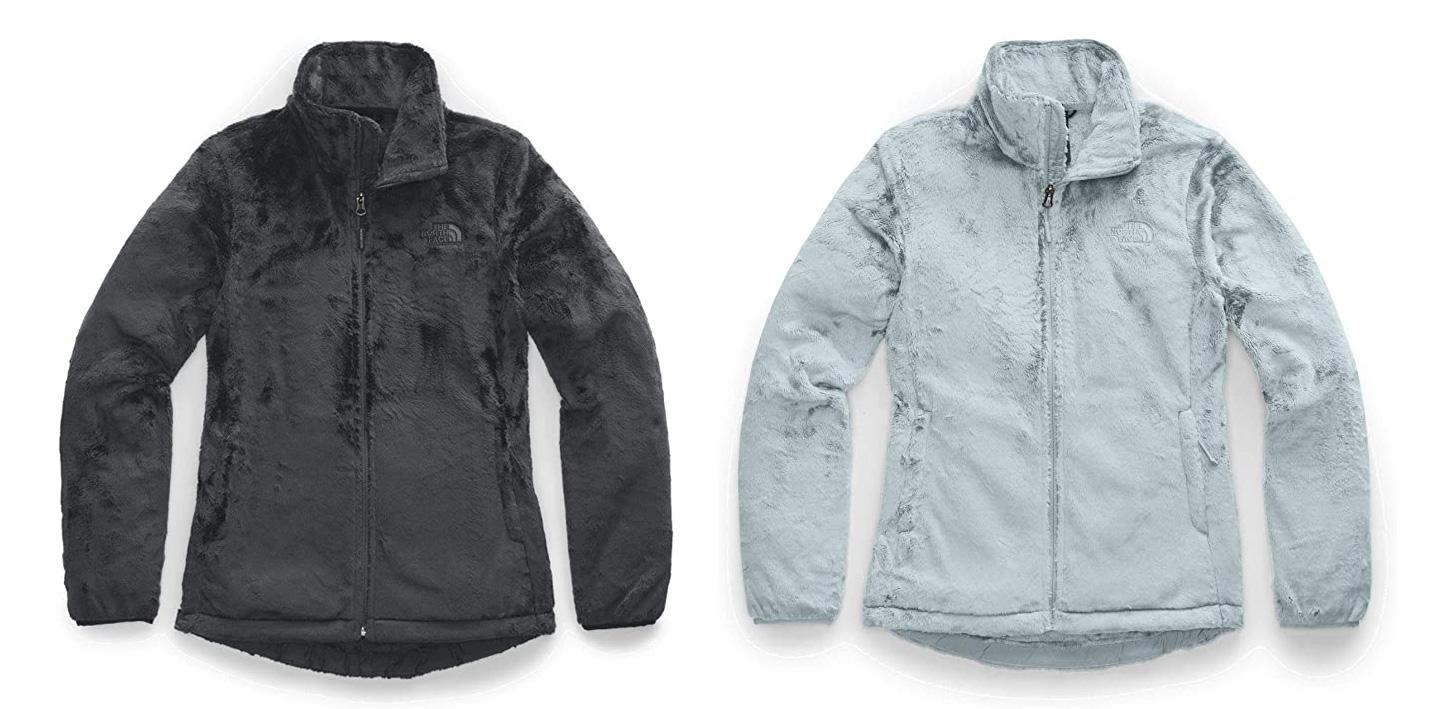 the north face osito full zip fleece jacket
