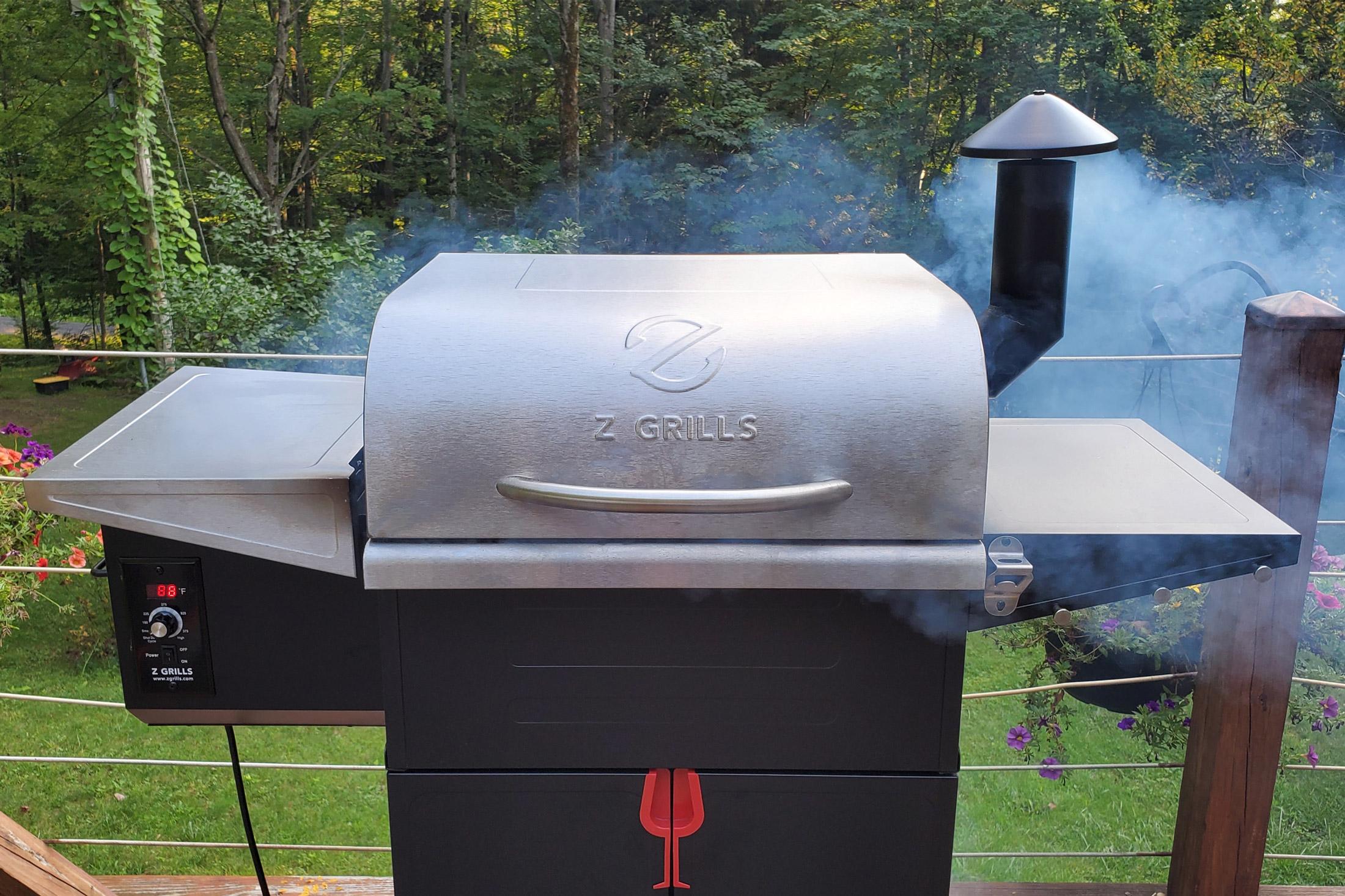 z grills flame elite 600d3e - smoking