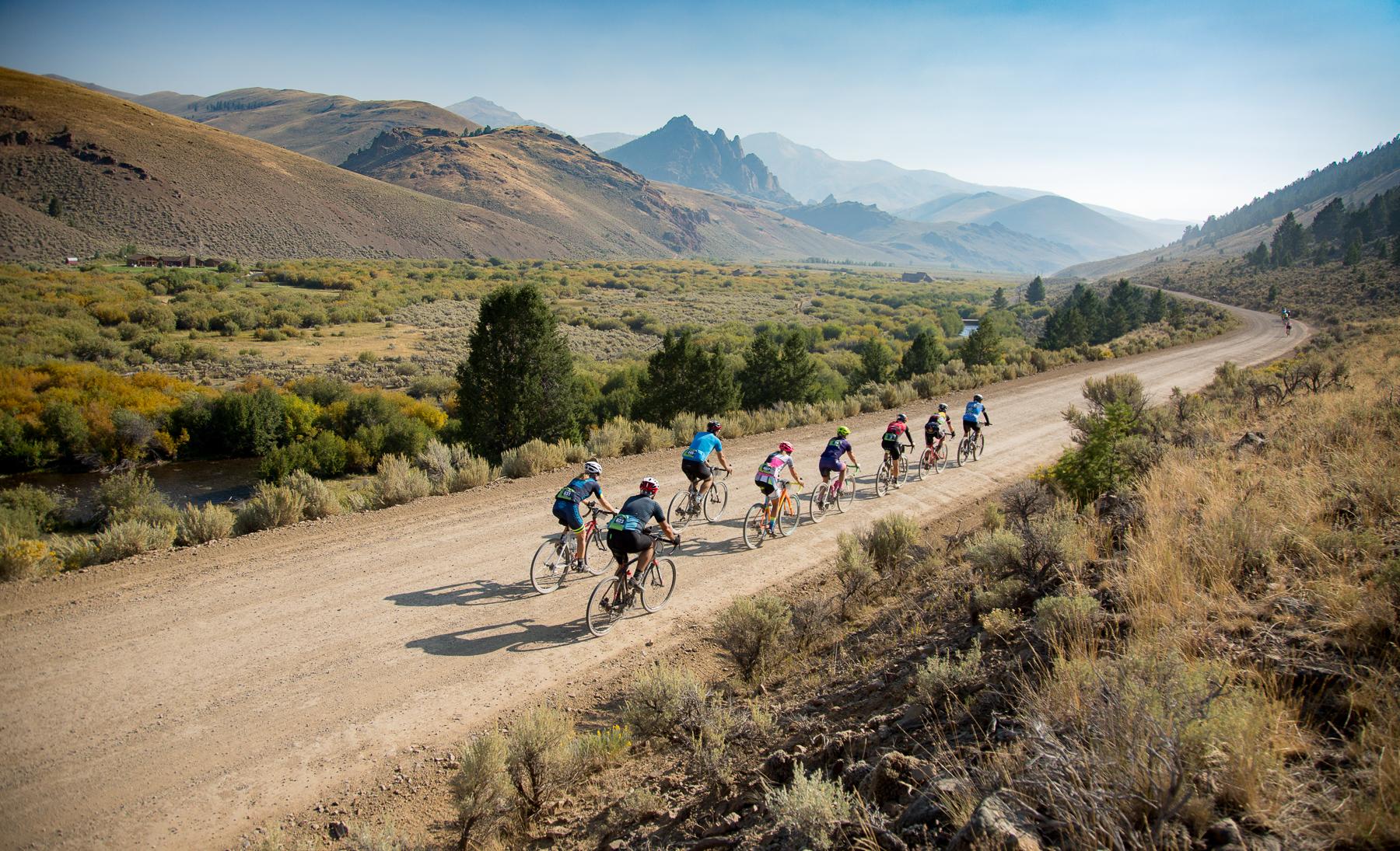 RPI Gravel racing event in Idaho
