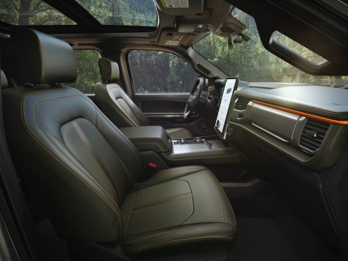 2022 Ford Expedition Timberline interior