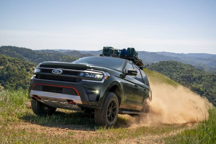Expedition Timberline: Ford's Big SUV Goes Off-Road for 2022
