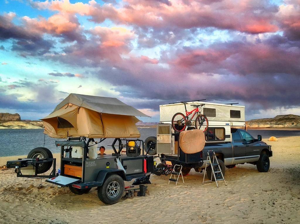 Bivouac Camping Trailer Fort