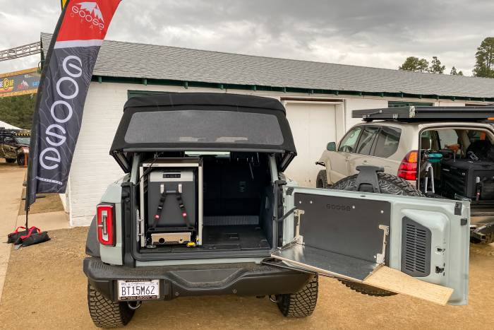 GooseGear Bronco Tailgate Table