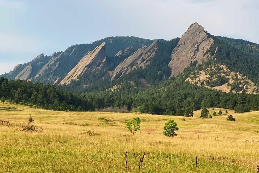 Flatirons mountain