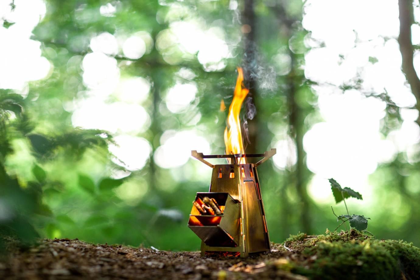 flametower compact rocket stove