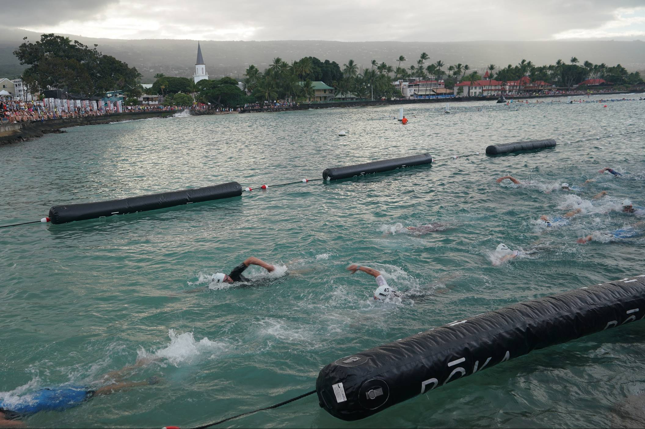 swimmers in the ironman world championship
