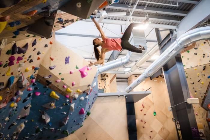 La Sportiva Brooke Raboutou Olympics wall climbing