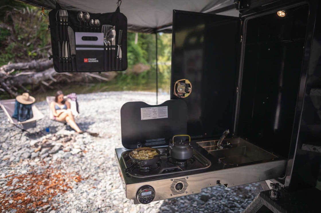 Off Grid Trailers Expedition 2.0 - kitchen