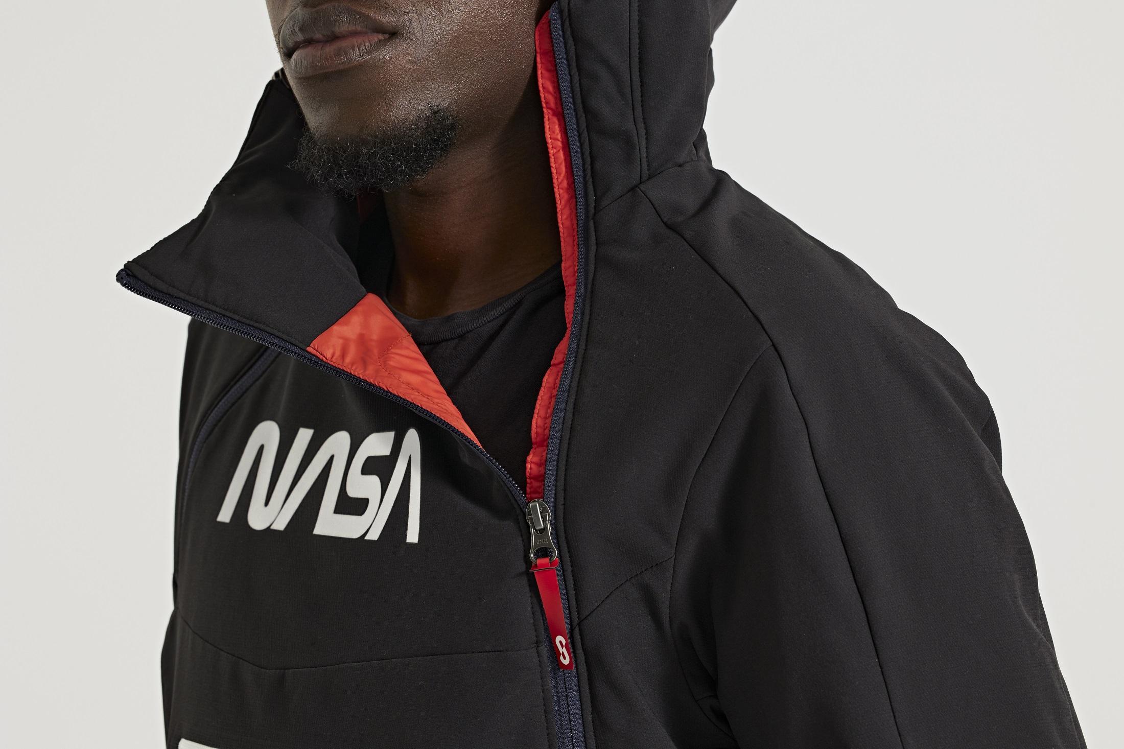 NASA OROS C41 Aerogel Hoodie detail