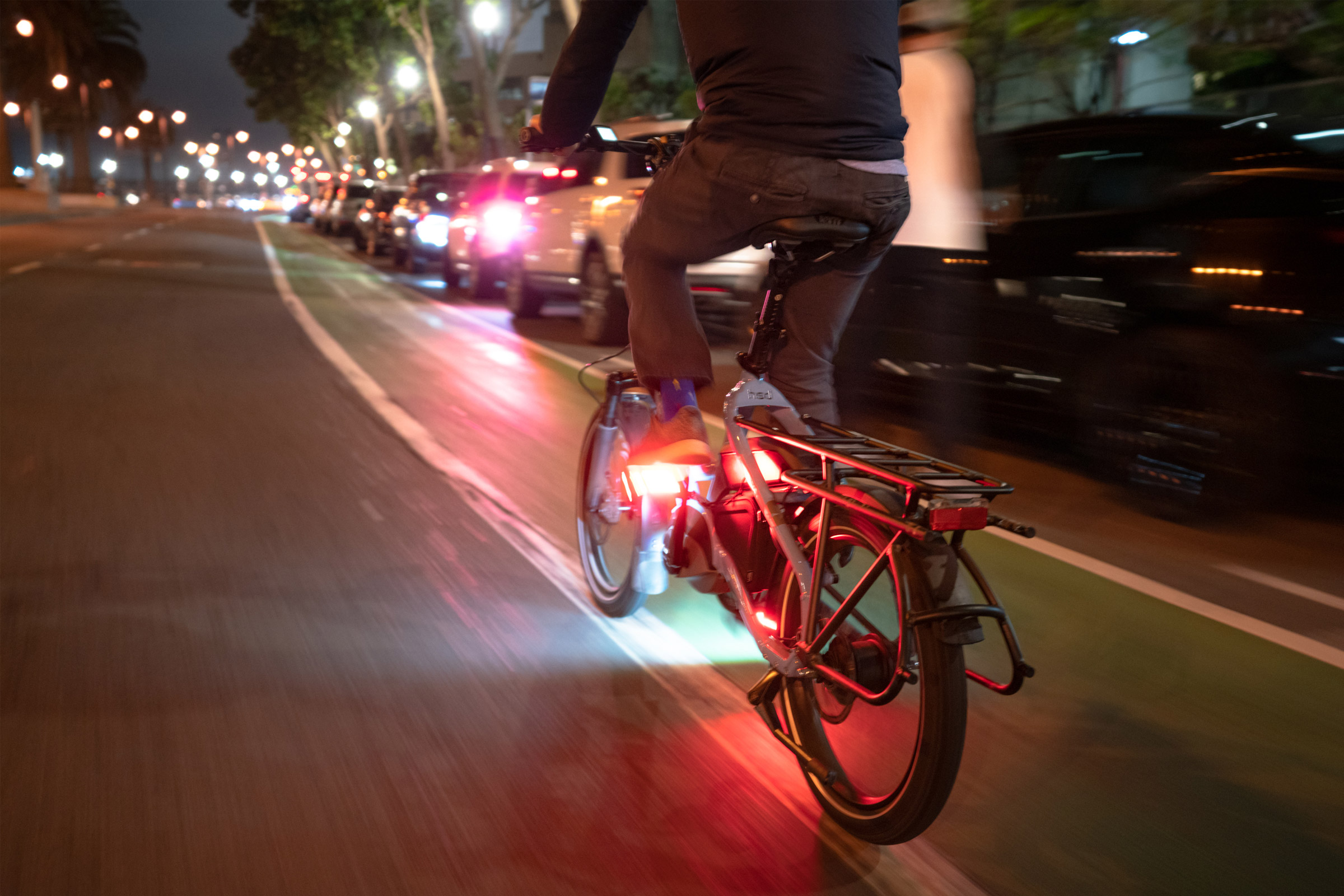 Redshift's LED Arclight Pedals - safety