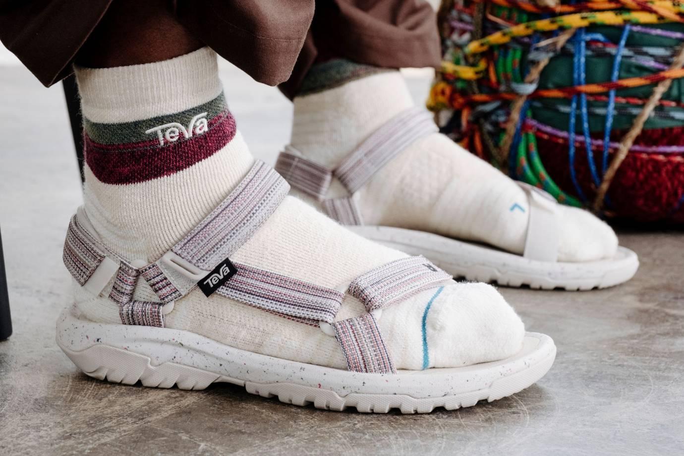 teva x stance socks with sandals
