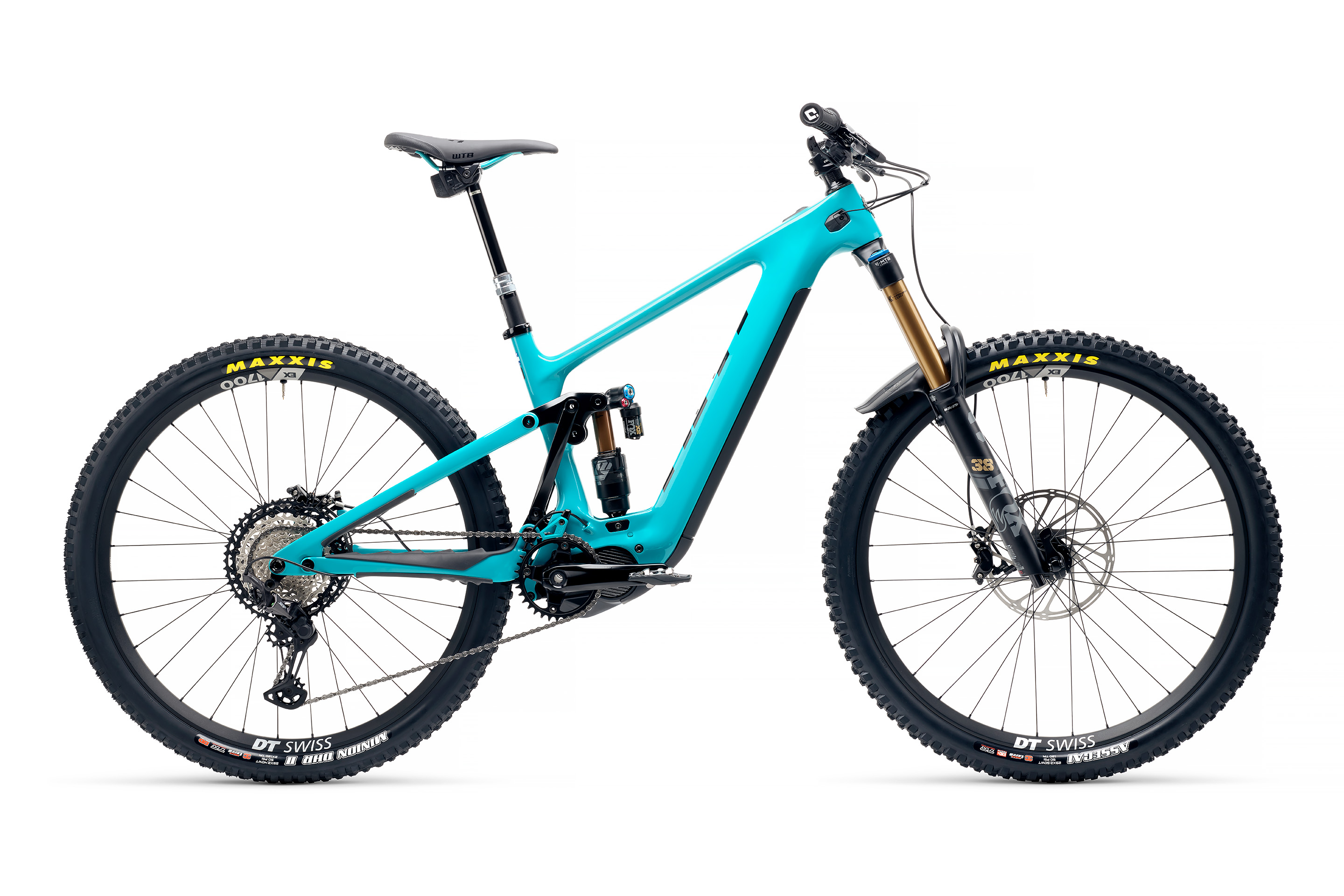 Yeti Cycles 160E in turquoise