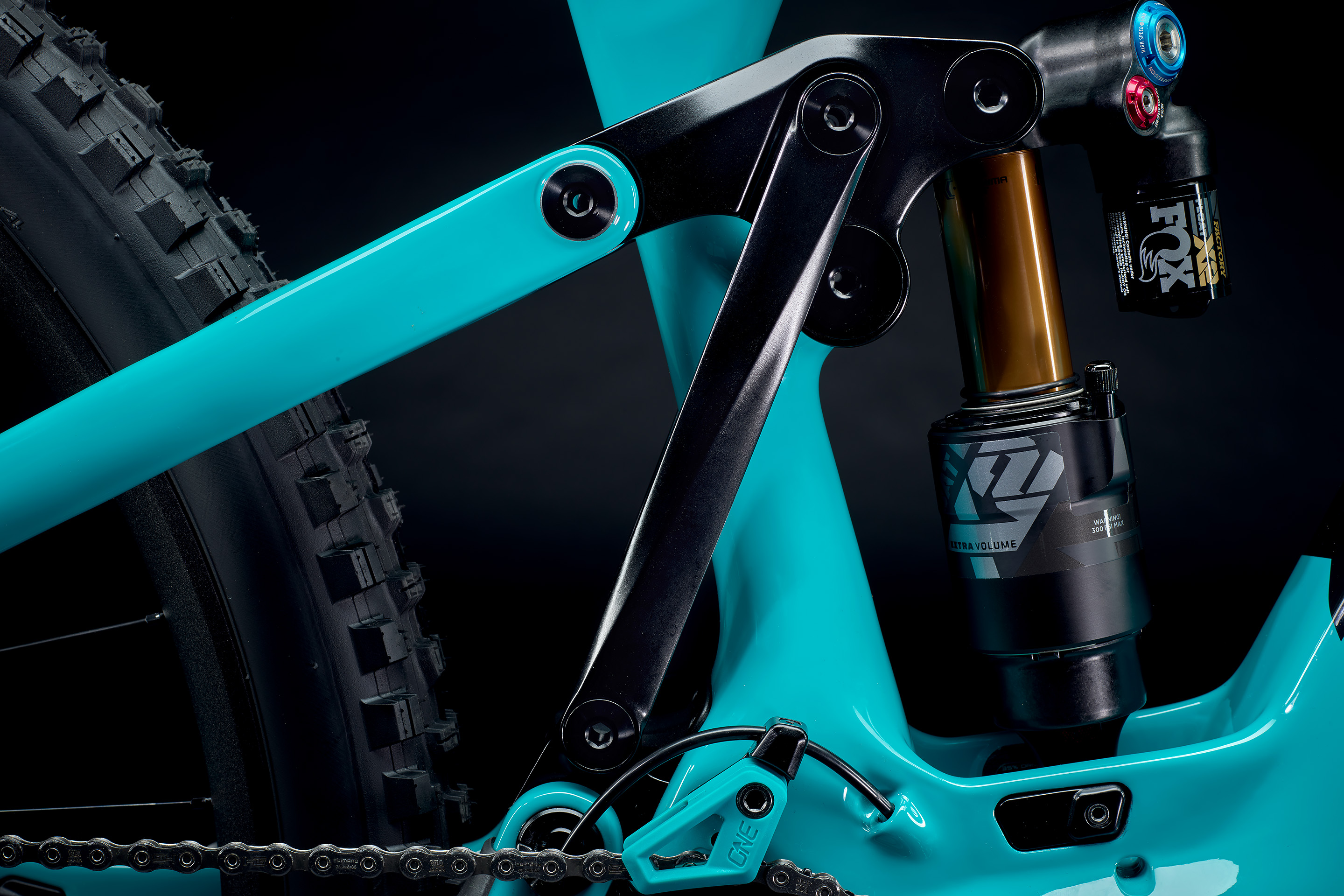 YetiCycles 160E flip-chip