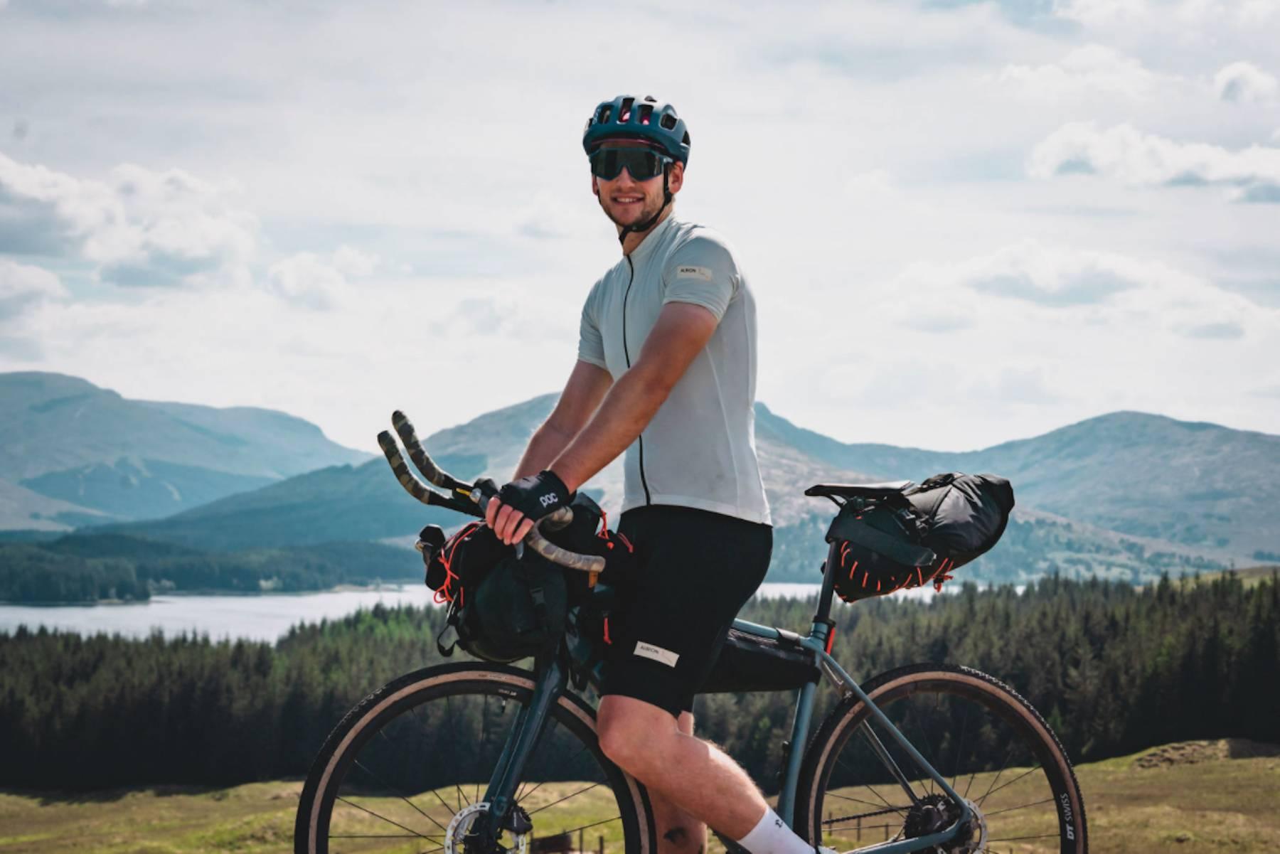 aaron rolph on his bike