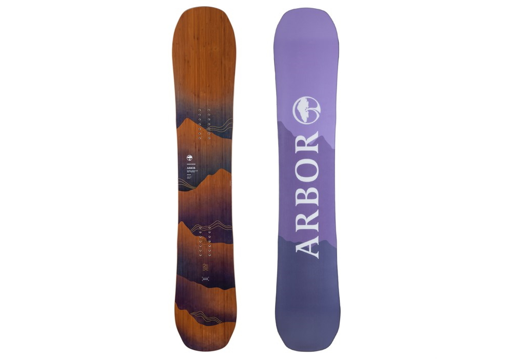 arbor swoon rocker snowboard women