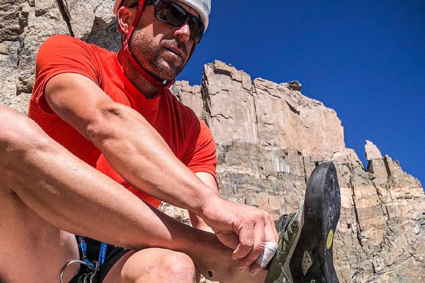 maury birdwell gears up for the Longs Peak FKT