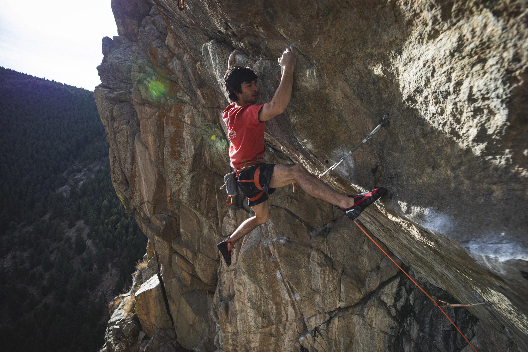 five ten niad moccasym - climbing