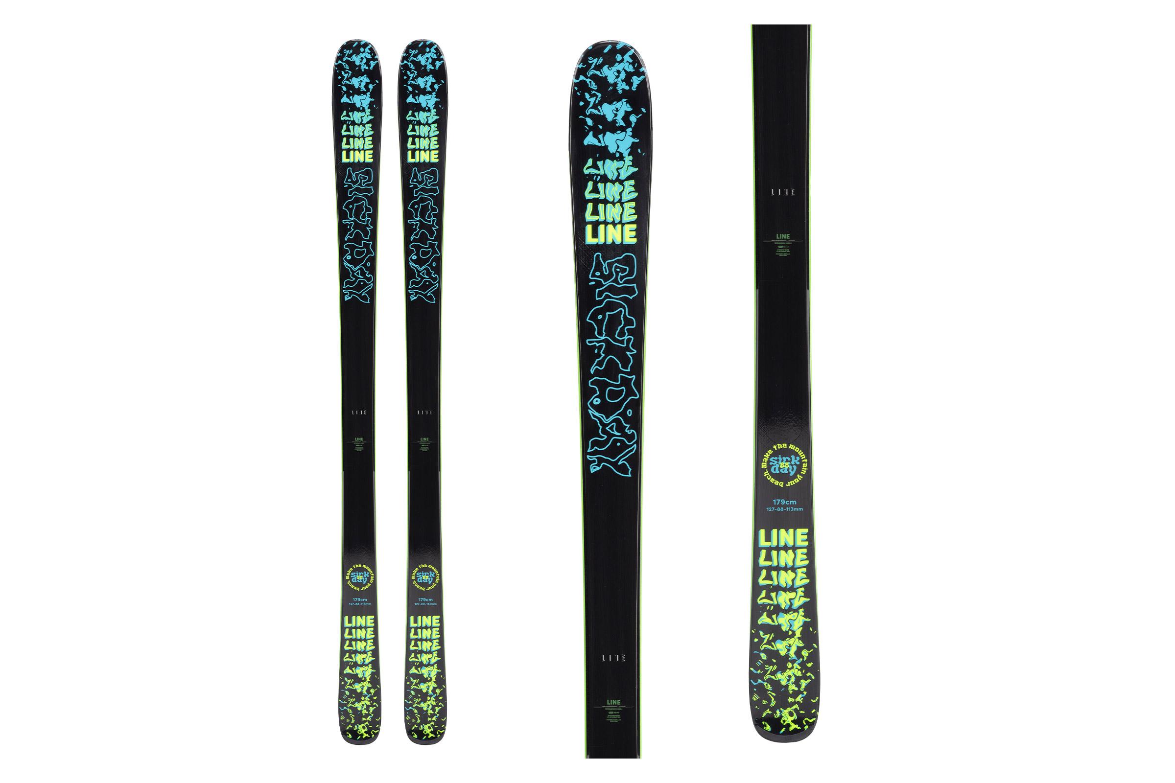 line skis sick fay 88 - all mountain skis