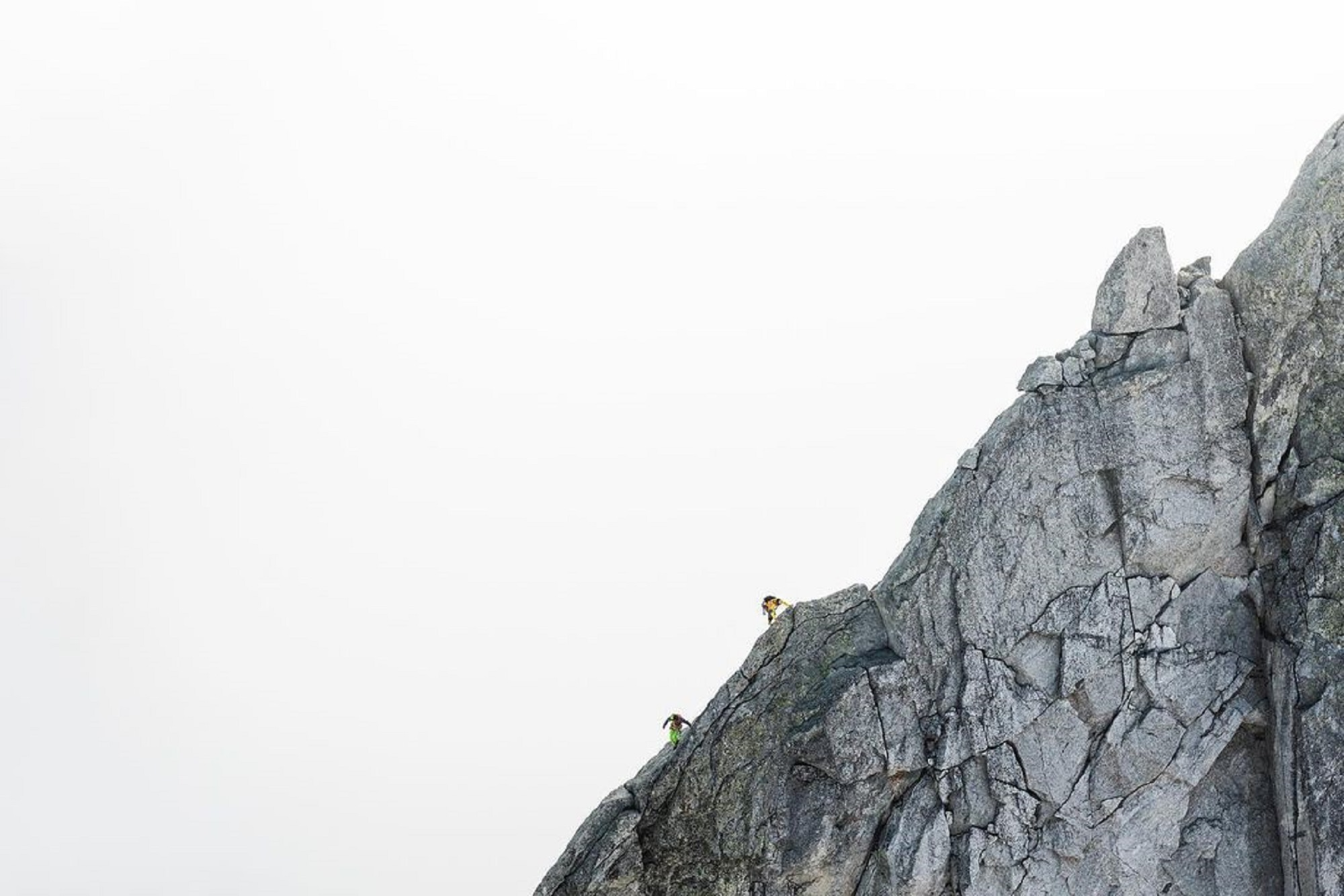 north 6 alpinists begin the journey to climb all six great north faces in the Alps
