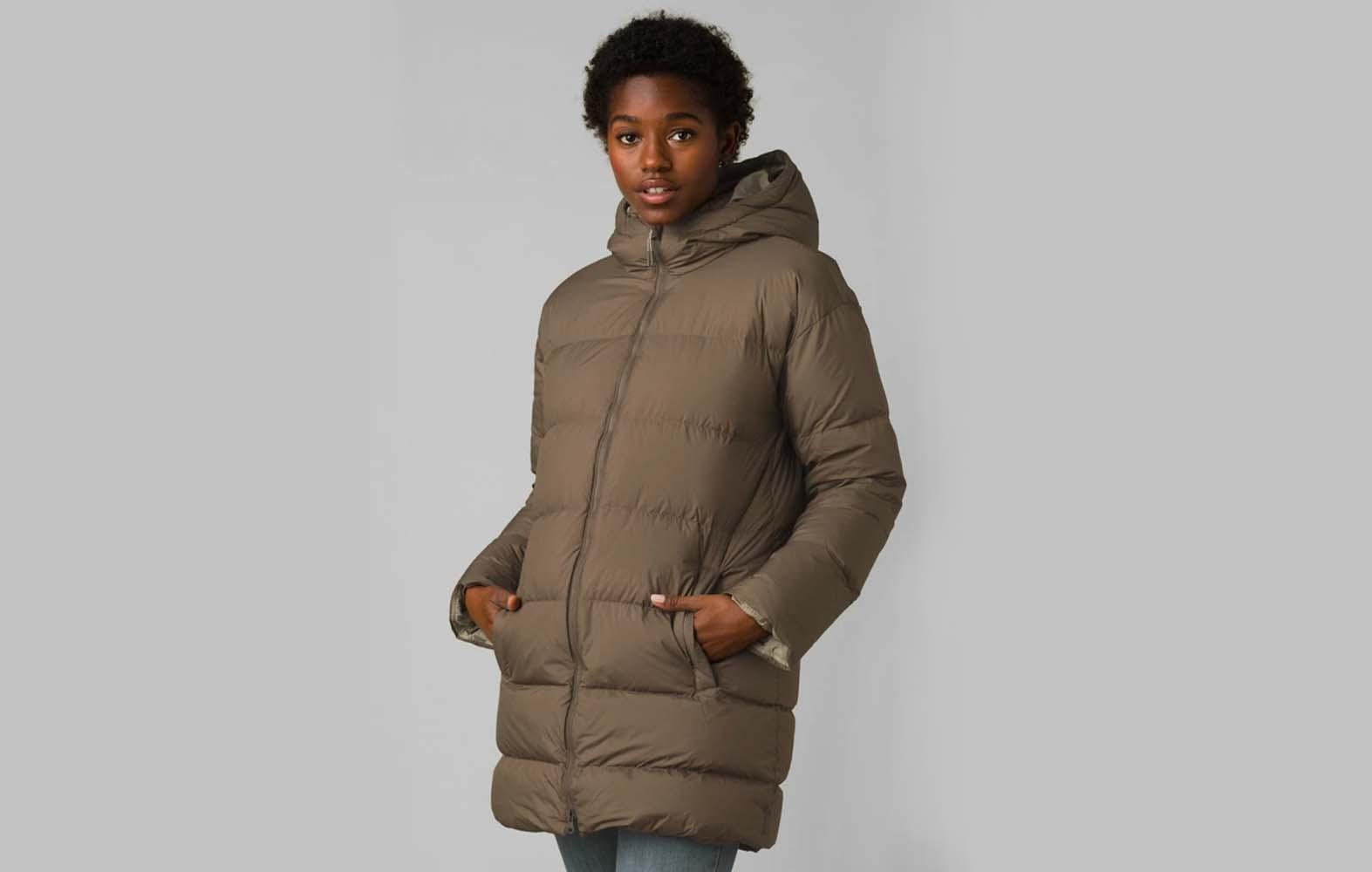 prana ice thistle long jacket