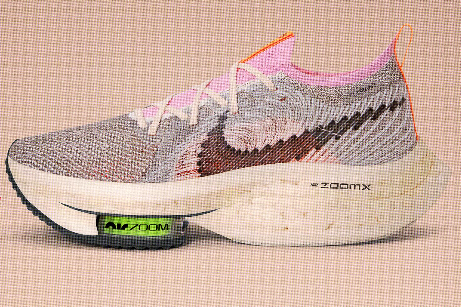 Nike Alphafly Next Nature sustainable running shoe