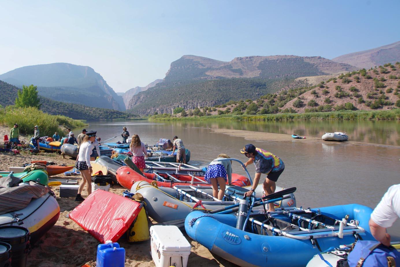multiday rafting trip