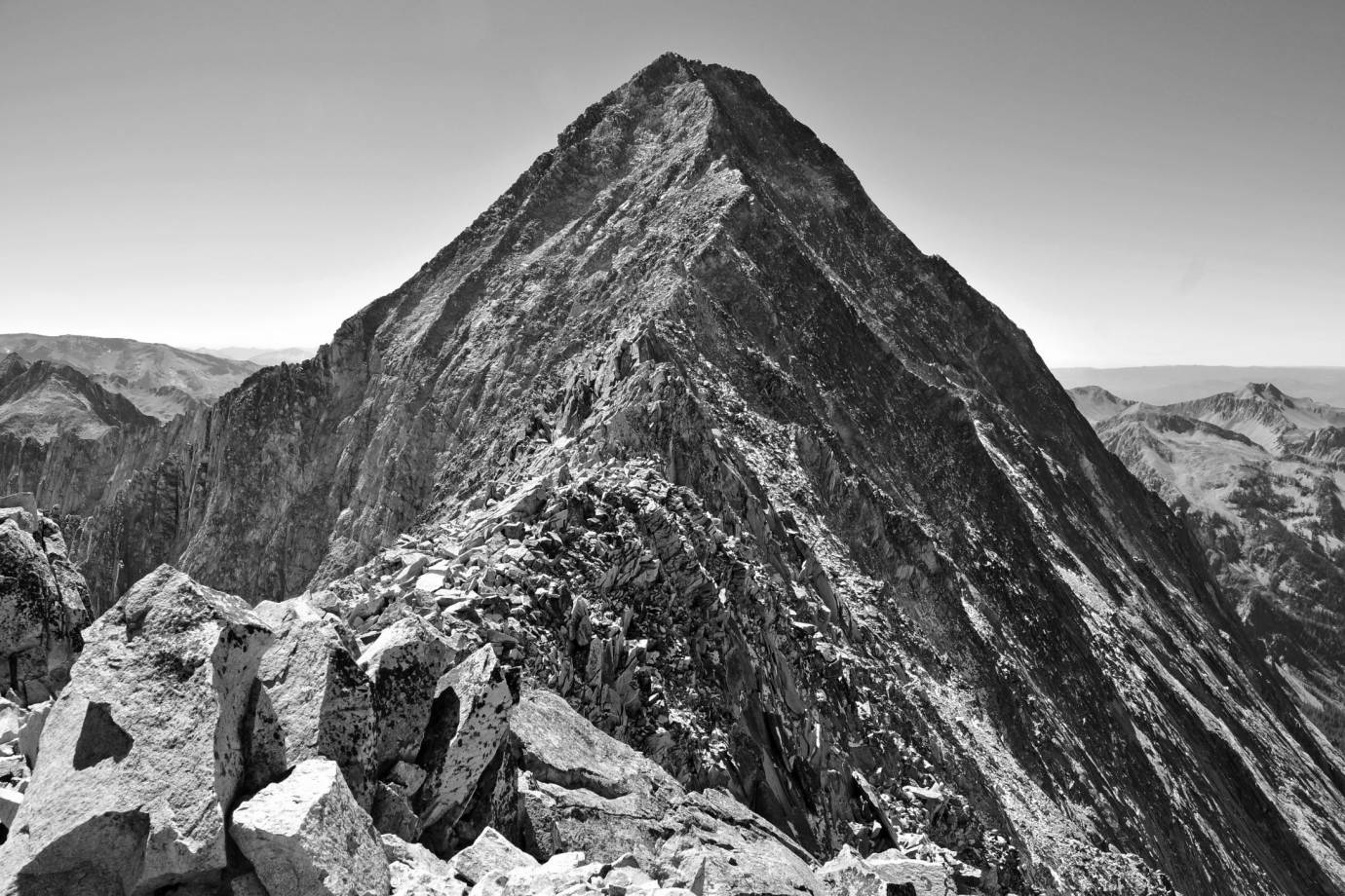 Capitol Peak, where wisconsin climber died