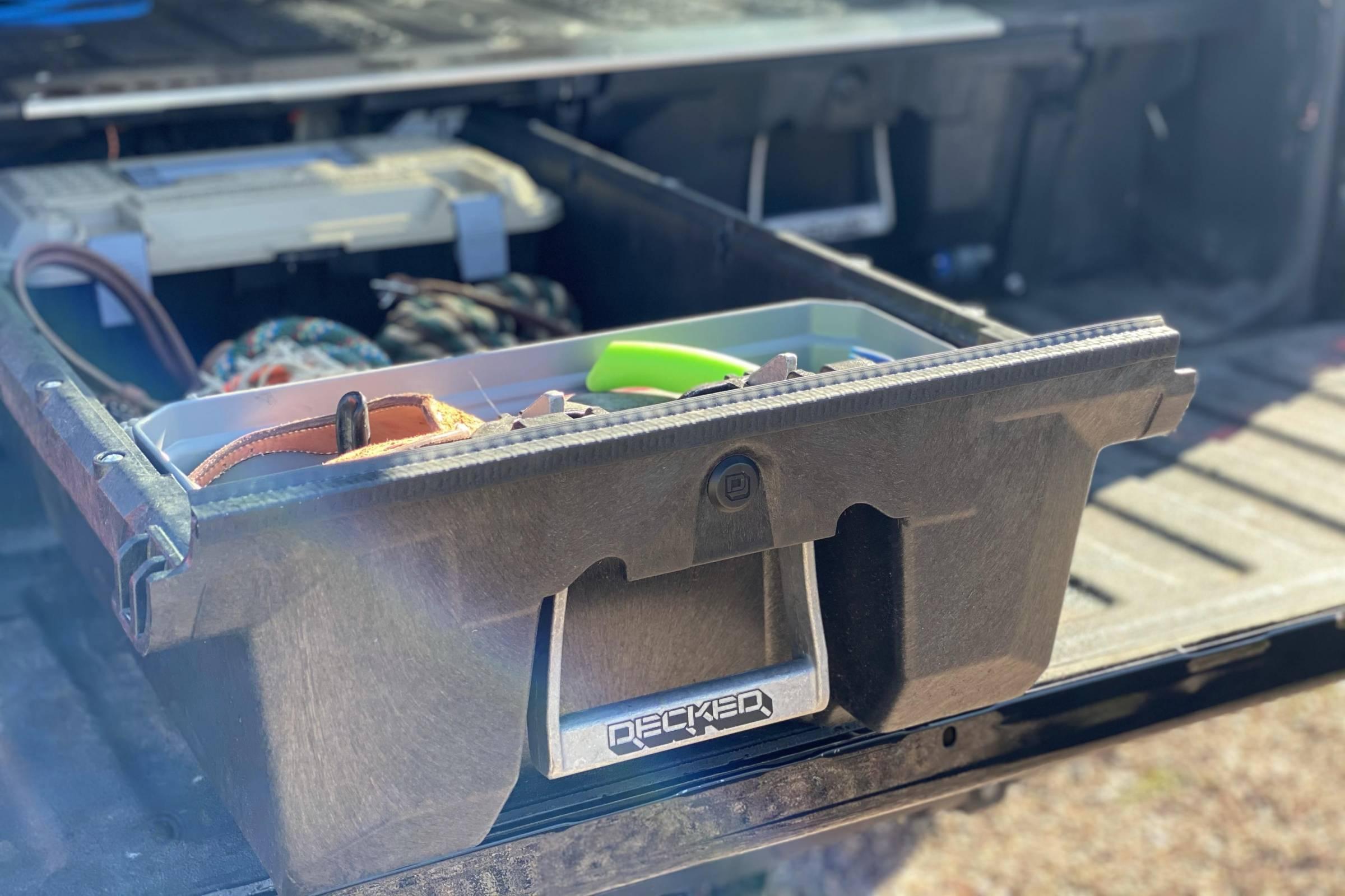 decked drawer system