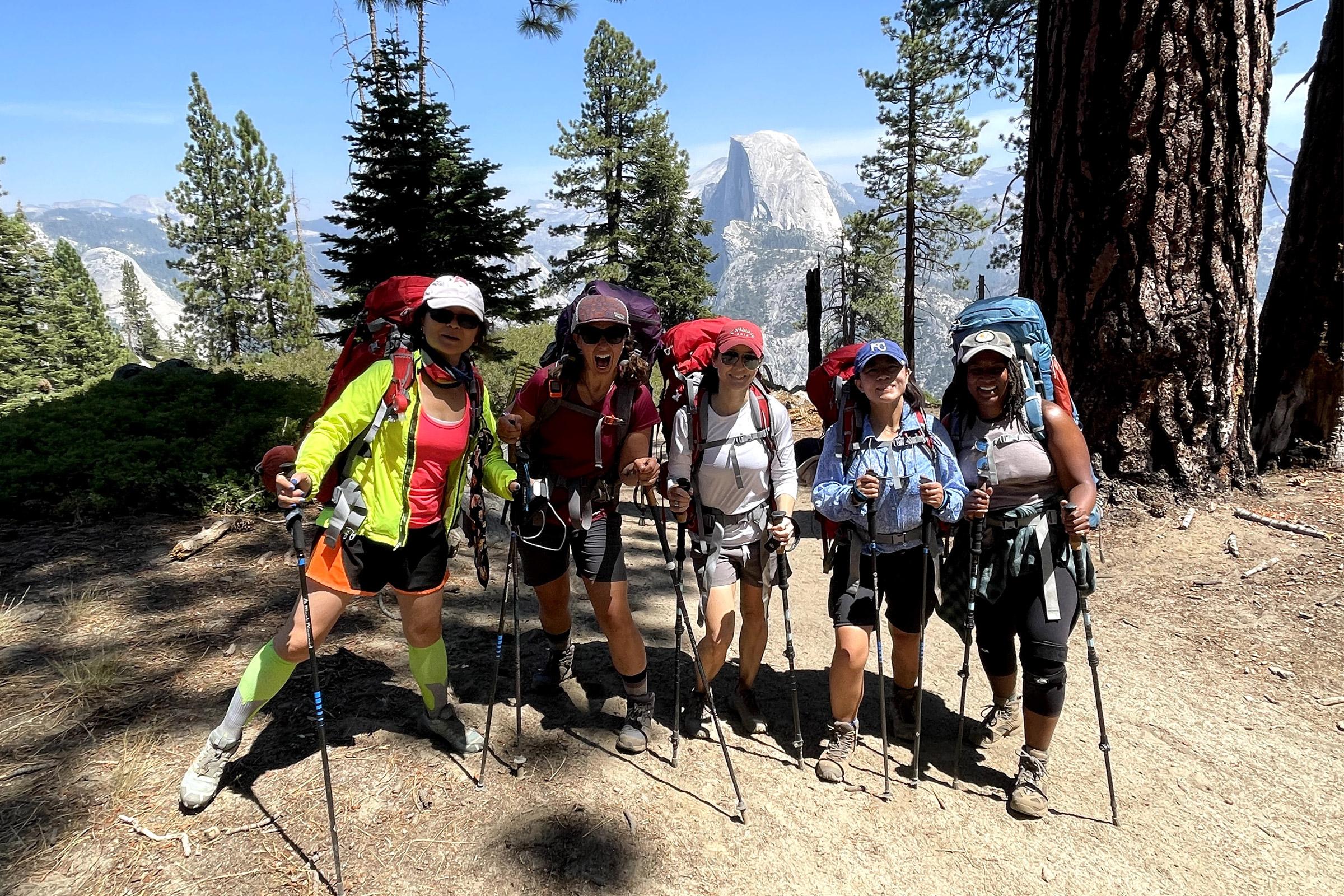 types of trekking poles
