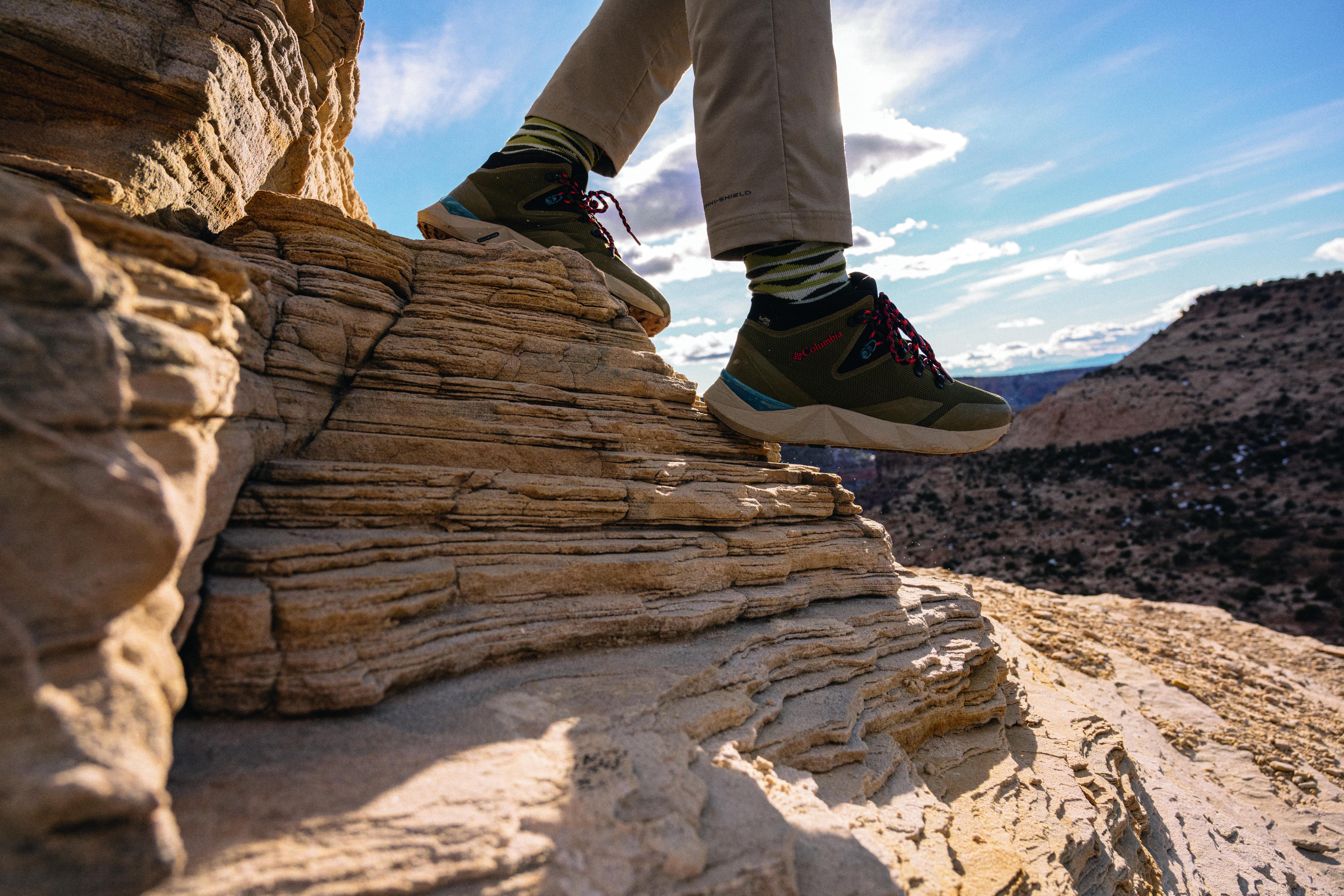 Zapato de senderismo Columbia Facet para la suciedad
