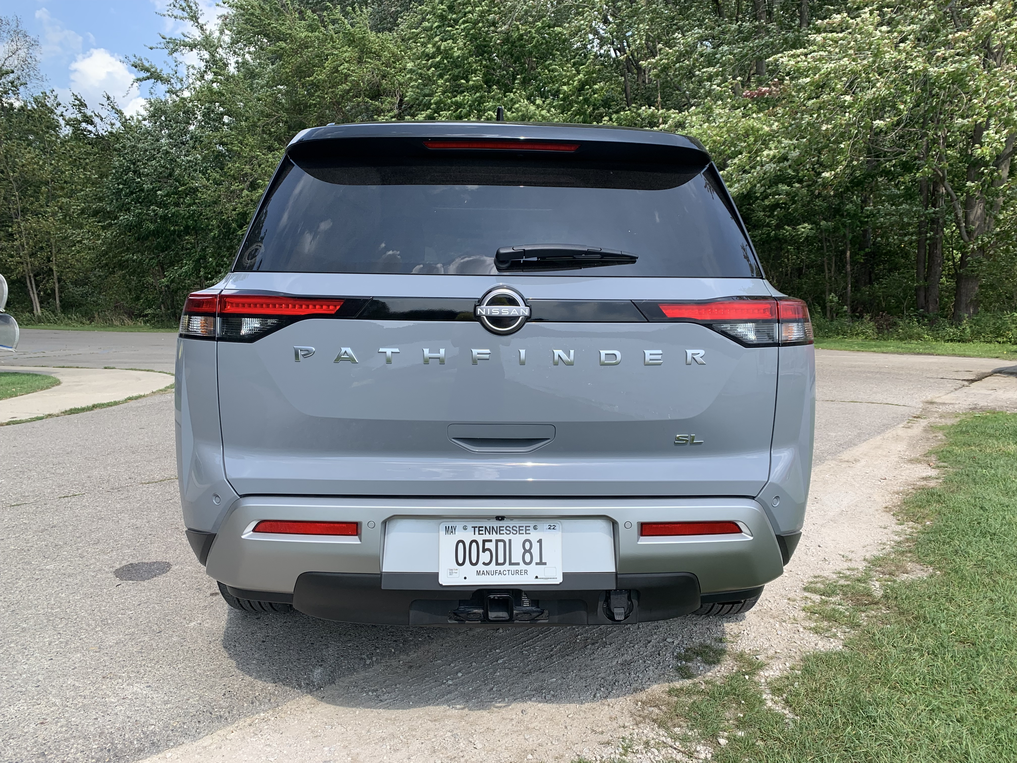 Pathfinder rear view