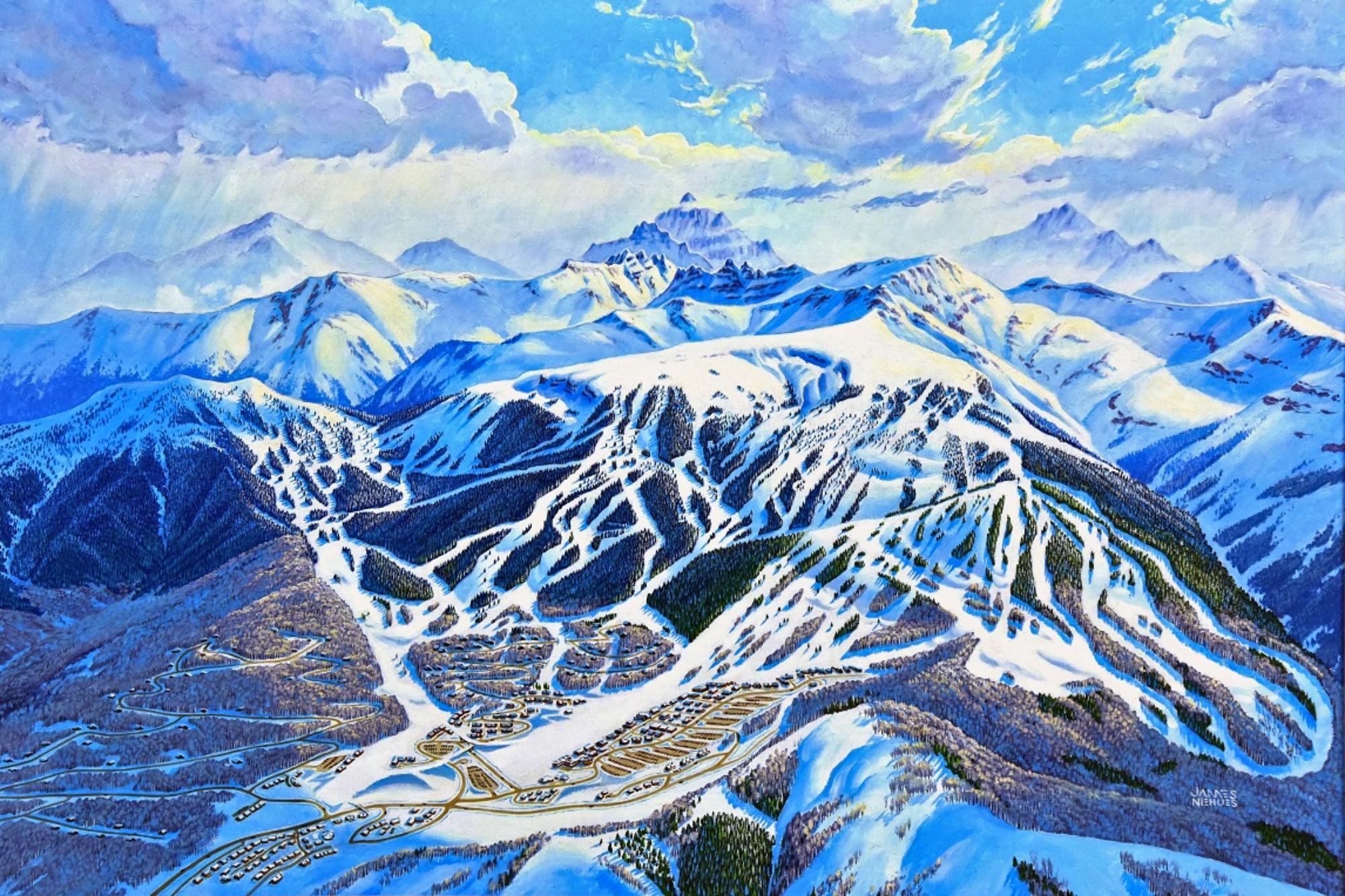 Misa de nieve de James Niehues; (Cortesía de J. Niehues vía Verde PR)