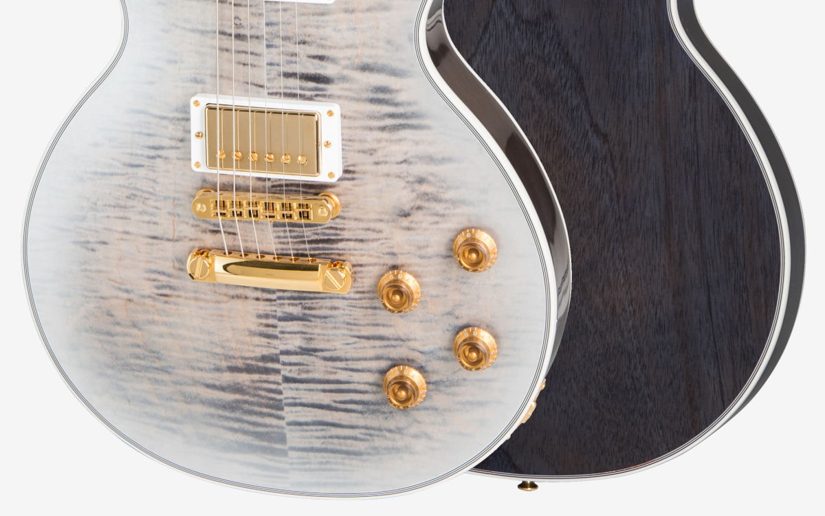 Les Paul Custom Ice Flame