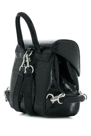 Crocodile backpack with raised hook ALEXANDER WANG | 10000001 | 2028B0501L001