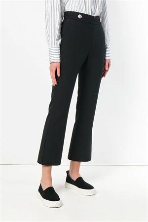 Pantaloni con bottone a vita alta MSGM | 9 | 2543MDP01 18470199