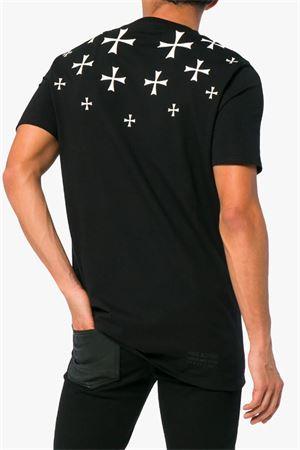 T-shirt con croci stampate NEIL BARRETT | 8 | PBJT435F H535S524