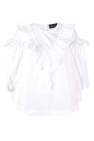 Cotton shirt with ruffles SIMONE ROCHA | 6 | 35930109