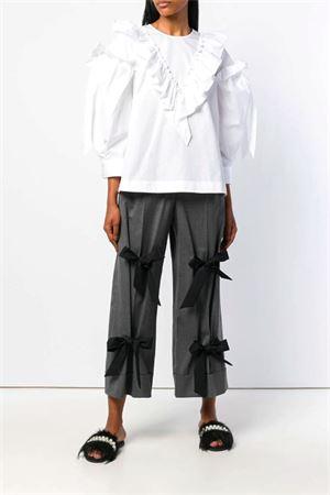 Camicia in cotone con volant SIMONE ROCHA | 6 | 35930109